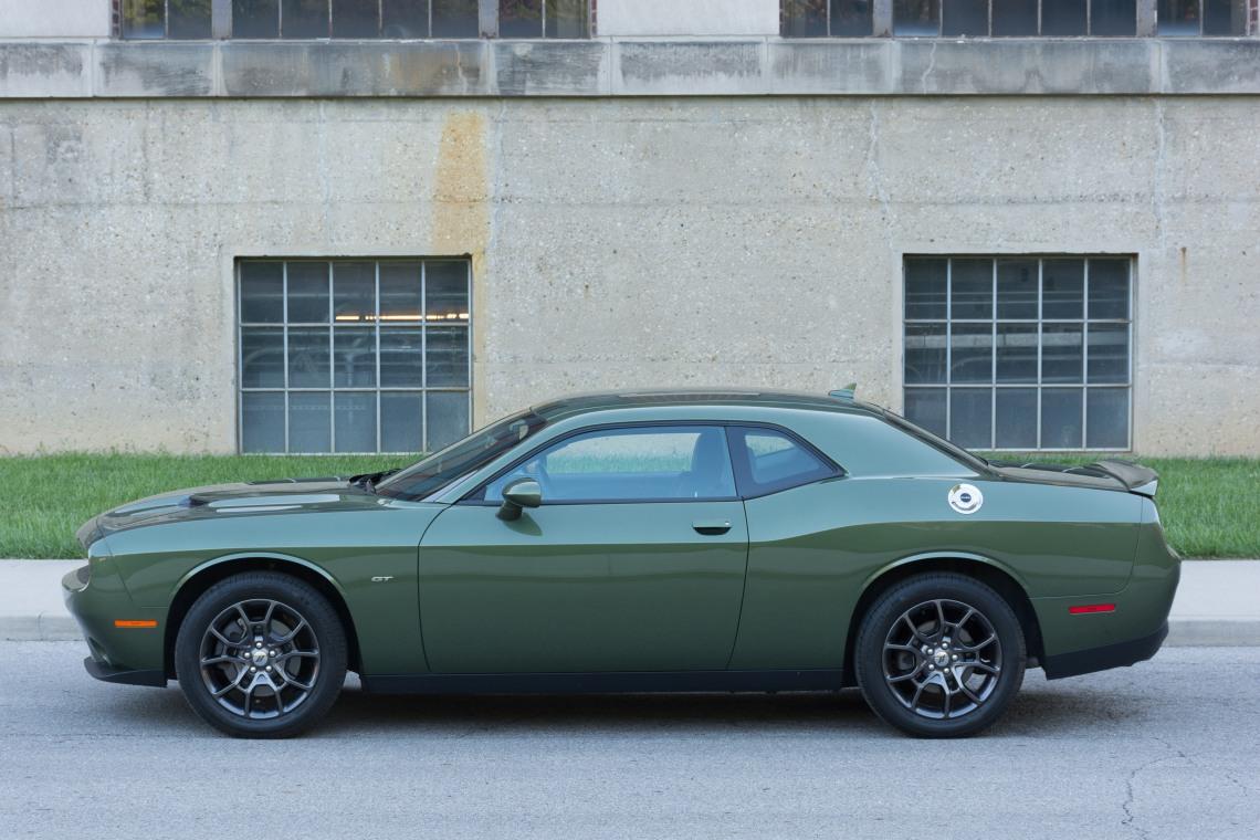 2018 Dodge Challenger GT profile