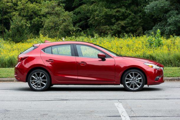2018-Mazda-3-GT-5-door-profile-610x407